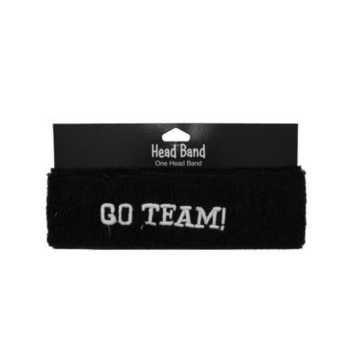 1pc blk headband 039060 ( Case of 24 )