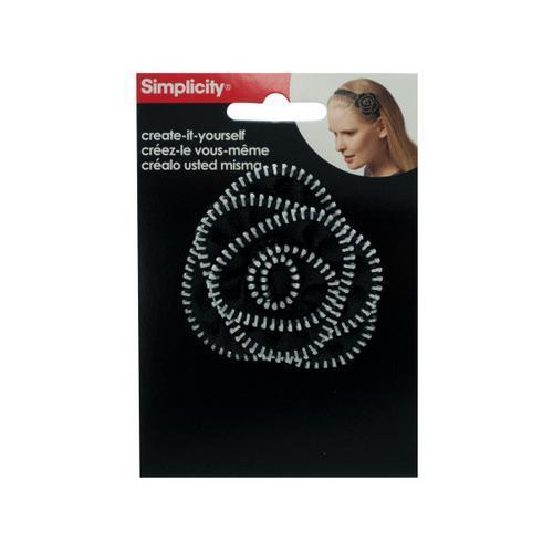 lg rosette silver zip ( Case of 108 )