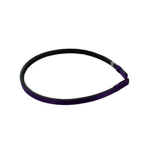 Purple Satin Headband ( Case of 120 )