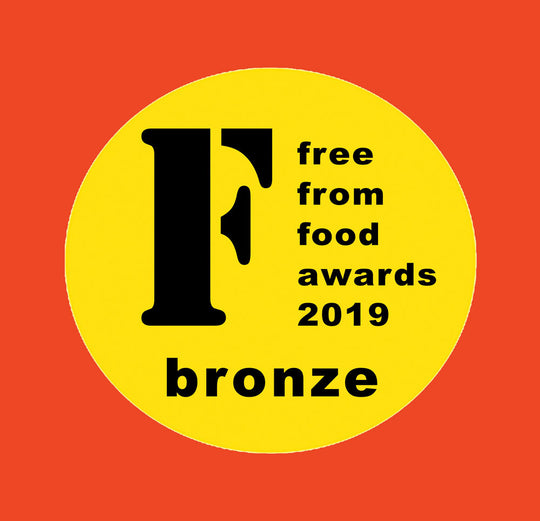 We're a winner at the National Free From Food Awards 2019!