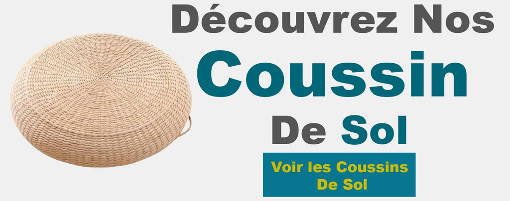 collection coussin de sol