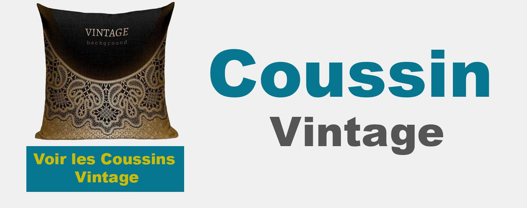 collection coussin vintage