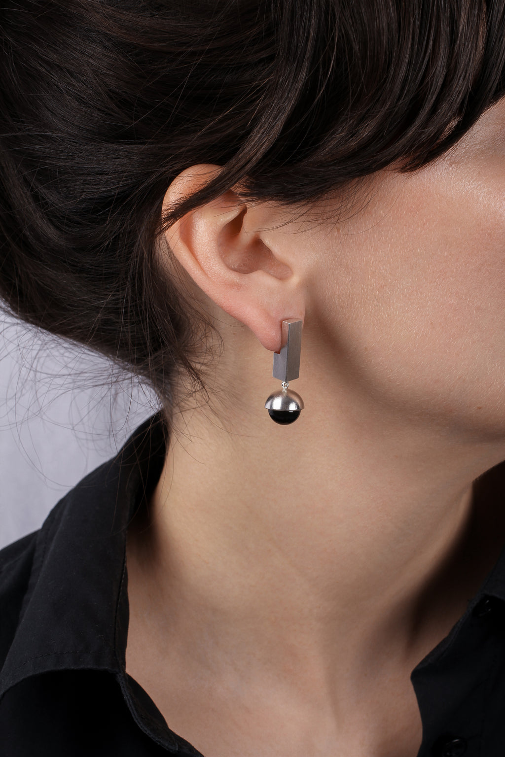 Small Onyx Earrings