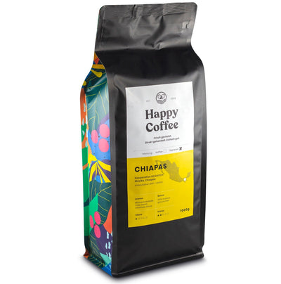 Happy Coffee CHIAPAS Bio Bohnen