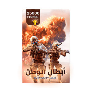 Instant war | 25000 Gold+ Free 12500 Gold