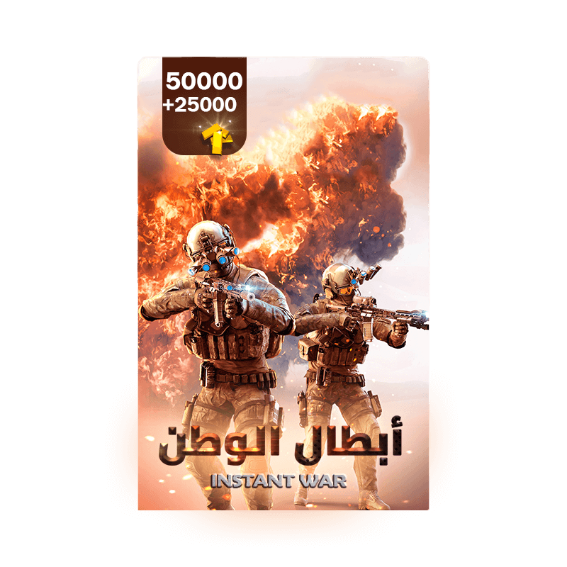 Instant war | 50000 Gold+ Free 25000 Gold