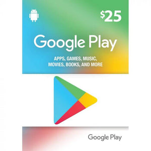 Google Play Gift Card - 97.99 SAR