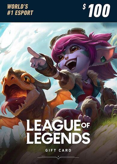League of Legends Gift Card -375 SAR