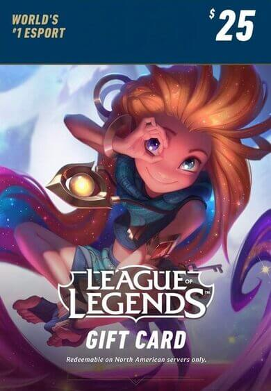 League of Legends Gift Card -101.99 SAR