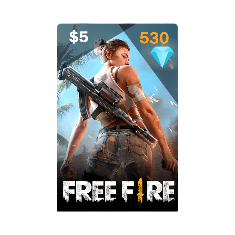 530 Diamonds (250 Shells)| Free Fire