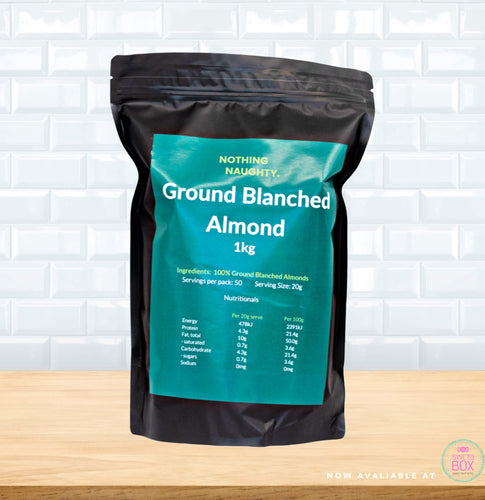 Almond Flour NZ, Almond Meal NZ, Nothing Naughty NZ, Keto Flour NZ, Keto products NZ, Low Carb NZ