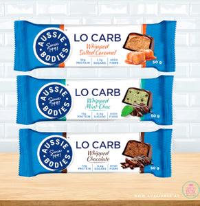 Aussie Bodies Lo Carb Whipped Bars