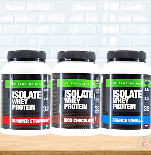 Isolate Protein NZ, Whey Isolate NZ, Low Carb Protein powder NZ, Keto Protein Powder NZ, Keto products NZ, Low Carb NZ