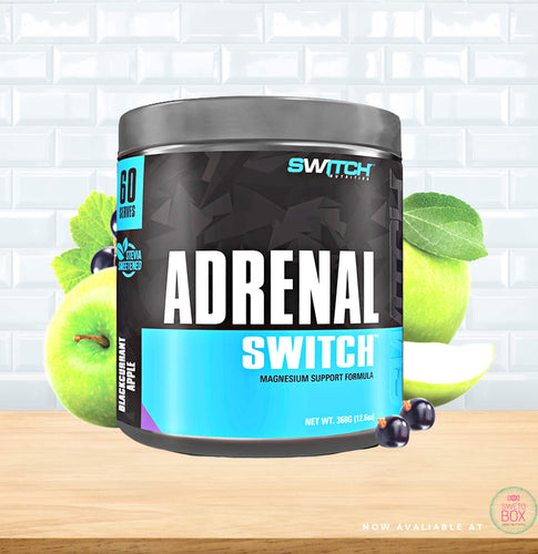 Adrenal Switch NZ, Switch Nutrition ingredients NZ, Adrenal Switch nutrition nz, Switch nz,
