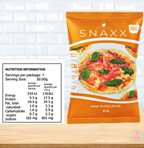 Snaxx low carb NZ, Snaxx NZ, 1 minute Snaxx NZ, One Minute Snaxx NZ, keto snack nz, keto food nz, keto products nz, low carb nz, Snaxx pizza NZ, Keto Pizza base NZ, Low carb Pizza base NZ, Keto pizza