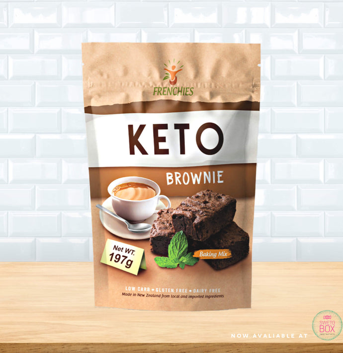 Frenchies Keto, Keto Brownie NZ, Low carb Brownie NZ, Brownie Mix, Gluten Free Brownie NZ, Keto Products NZ, Low Carb NZ