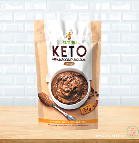 Frenchies Keto, Keto Mousse NZ, Low carb Mousse NZ, Gluten Free Mousse, Keto products NZ, Low carb NZ, Frenchies NZ
