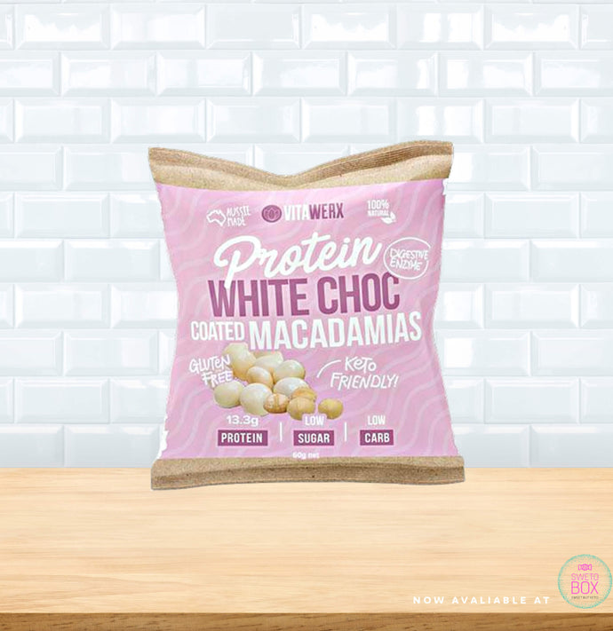 Vitawerx White Choc Coated Nuts