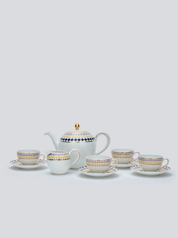 Prêt-à-Portea China - Set for Four