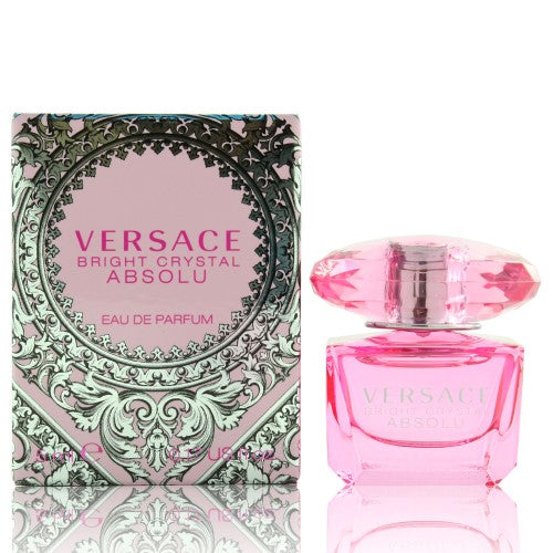 Versace Bright Crystal Absolu By Versace 0.17 Oz Eau De Parfum Mini For Women - Box
