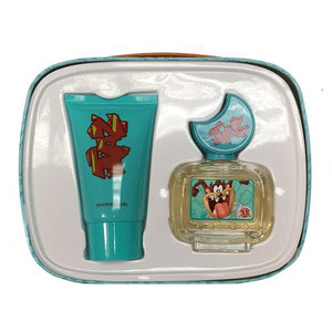Taz By Looney Tunes 2 Piece Gift Set - 1.7 Oz Eau De Toilette Spray, 2.55 Oz Shower Gel For Children - Gift Set