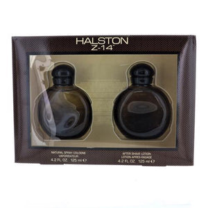 Halston Z-14 By Halston 2 Piece Gift Set - 4.2 Oz Edc Spray, 4.2 Oz Aftershave For Men - Gift Set