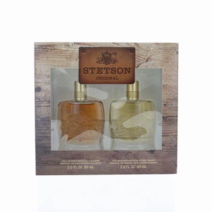 Stetson Original By Coty 2 Piece Gift Set - 2.0 Oz Collector'S Edition Cologne, 2.0 Oz Collector'S Edition After Shave For Men - Gift Set