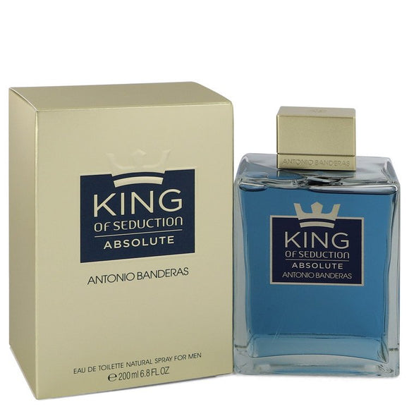 A. Banderas King Of Seduction Absolute for Men EDT Spray 6.8 Oz