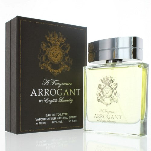 English Laundry Arrogant By English Laundry 3.4 Oz Eau De Toilette Spray For Men - Box