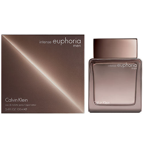 Euphoria Intense By Calvin Klein 3.4 Oz Eau De Toilette Spray For Men - Box