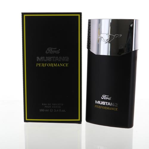 Mustang Performance By Ford 3.4 Oz Eau De Toilette Spray For Men - Box