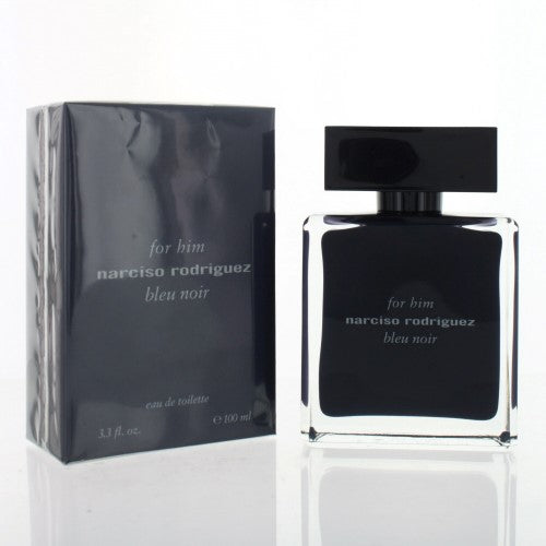 Narciso Rodriguez Bleu Noir By Narciso Rodriguez 3.3 Oz EDT Spray For Men NEW in Box