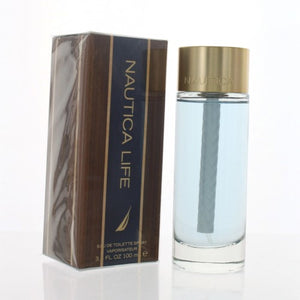 Nautica Life By Nautica 3.4 Oz EDT Spray For Men NEW in Box