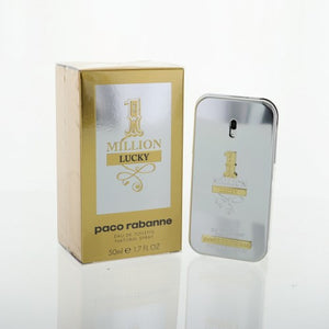 Paco Rabanne 1 Million Lucky By Paco Rabanne 1.7 Oz Eau De Toilette Spray For Men - Box