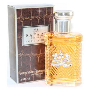 Safari By Ralph Lauren 2.5 Oz EDT Spray For Men NEW in Box