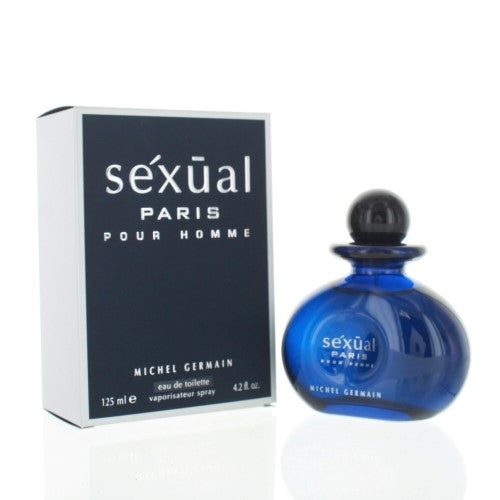 Sexual Paris By Michel Germain 4.2 Oz EDT Spray For Men NEW in Box