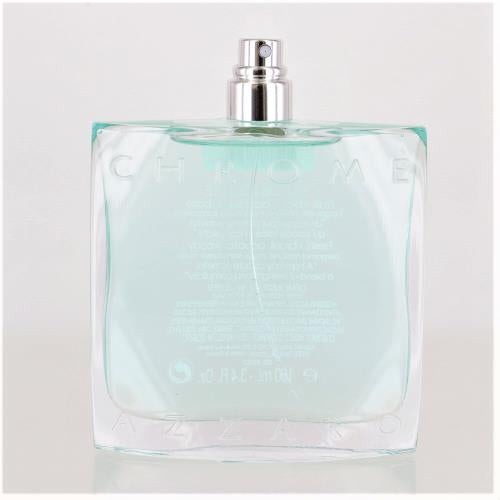 Chrome By Azzaro 3.4 Oz Eau De Toilette Spray For Men - Tester