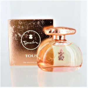 Tous Sensual Touch By Tous 3.4 Oz EDT Spray For Women NEW in Box
