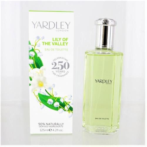 Yardley Lily Of The Valley By Yardley London 4.2 Oz EDT For Women NEW in Box