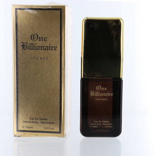 One Millionaire By Unknown 3.4 Oz EDT Spray For Men NEW in Box