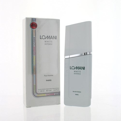 White Intense By Lomani 3.3 Oz EDT Spray For Men NEW in Box