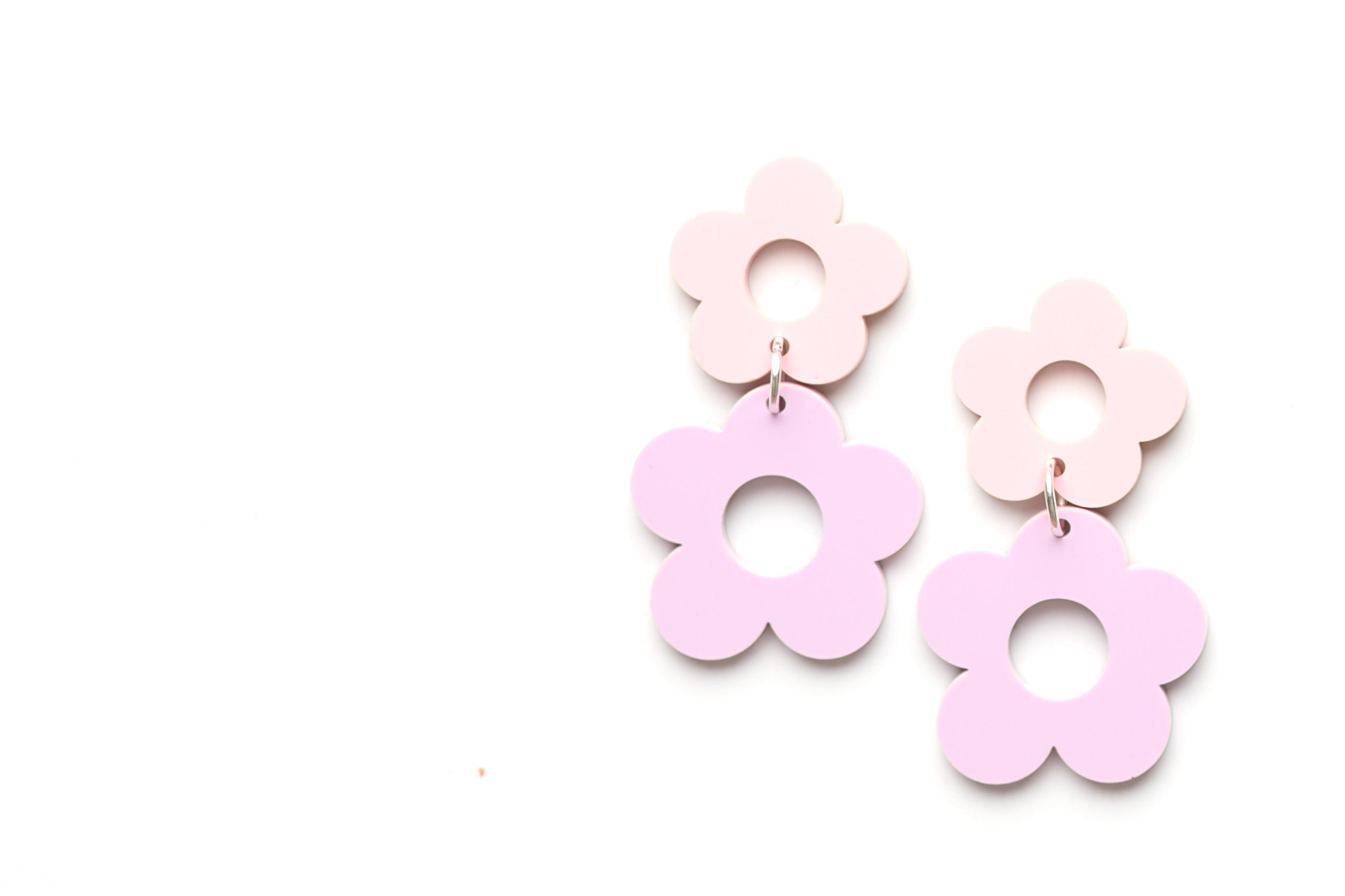 Spring Flower Dangle pink-purple