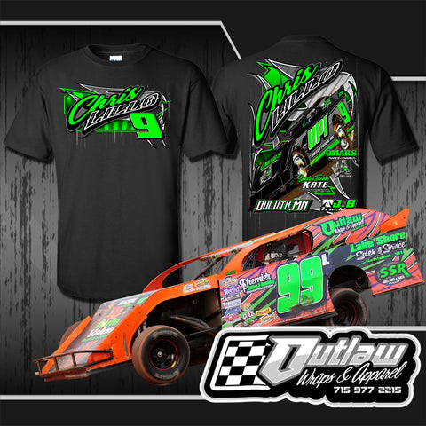 Full Neon Wrap & 50 Shirt Package