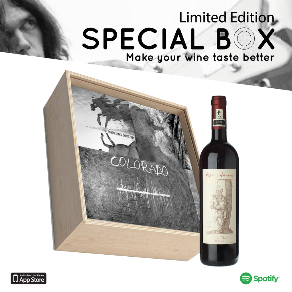 Special Box #6 - Neil Young + Pinot Nero di Pojer & Sandri #Rock#Folk