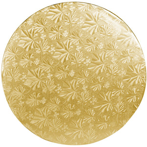 "12"" Gold Round Drum 1/2"", 6 count"