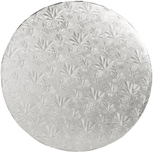 "Load image into Gallery viewer, 10"" Silver Round Drum 1/2"", 6 count"