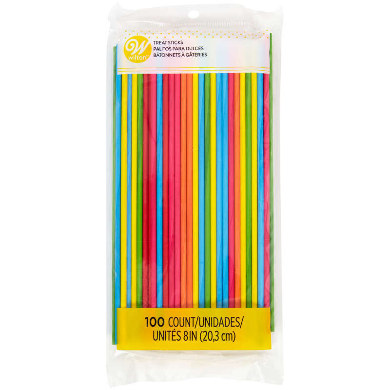Primary Color Treat Sticks, 100-Count