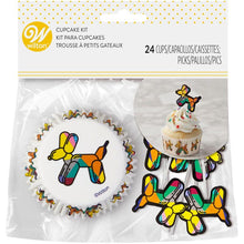 Load image into Gallery viewer, Balloon Dogs Cupcake Kit, 24-Count