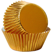 Load image into Gallery viewer, Gold Foil Cupcake Liners, 24-Count