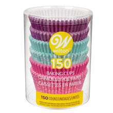 Load image into Gallery viewer, Purple, Teal and Pink Standard Cupcake Liners, 150-Count